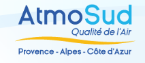 Logo of AtmoSud Provence-Alpes-Côte d'Azur