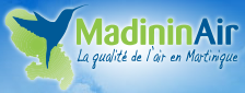 Logo of Madininair La qualité de l'air en Martinique