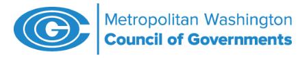 Logo of Metropolitan Wahington Council of Governments