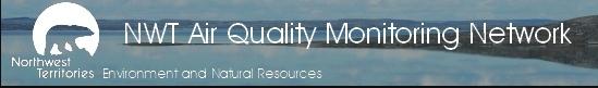 Logo of NWT Air Quality Monitoring Network
