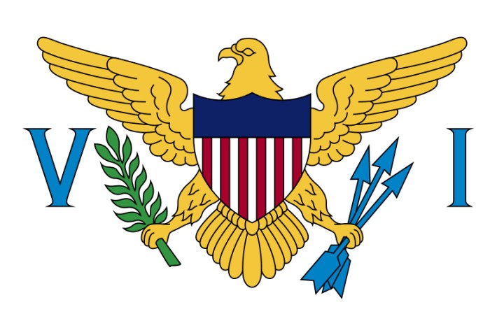U.S. Virgin Islands country flag