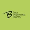 Buch International Hospital的主页标志