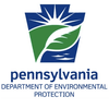 Pennsylvania Department of Environmental Protection (Pennsylvania DEP) 的主页标志