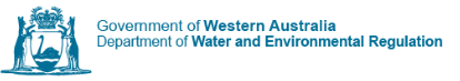 Western Australia Dept of Water and Env Reg的主页标志