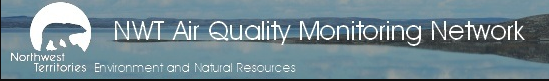 Logo of NWT Air Quality Monitoring Network